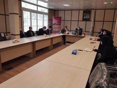 گزارش تصویری/نشست مشترک مابین بهزیستی و کمیته امداد شهرستان