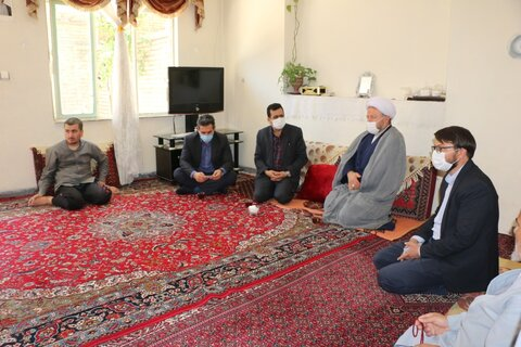 بازدید از منزل مددجویان تحت پوشش بهزیستی استان