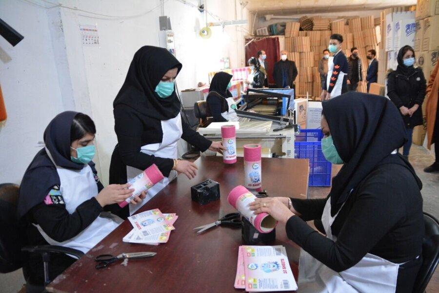 زنان سرپرست خانوار کرمانشاه به درگاههای فروش مجازی معرفی میشوند