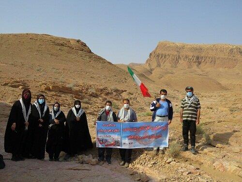 خوروبیابانک| کوهپیمایی کارکنان اداره بهزیستی به مناسبت سالروز آزادسازی خرمشهر