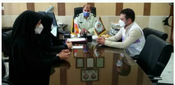 اقلید   برگزاری جلسه تعامل اورژانس اجتماعی با کلانتری مرکزی