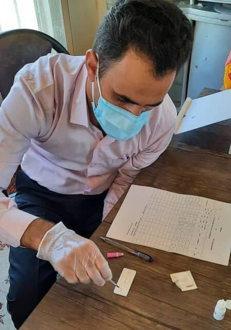 اسد اباد| انجام آزمایش ایدز در کمپ های ترک اعتیاد تحت نظارت