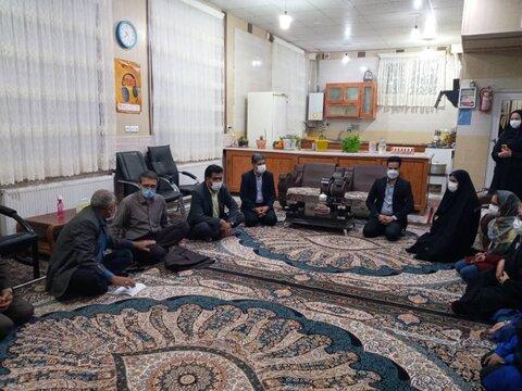 مرکز نگهداری دختران ریحانه بخش خضری دشت بیاض شهرستان قاینات خ ج