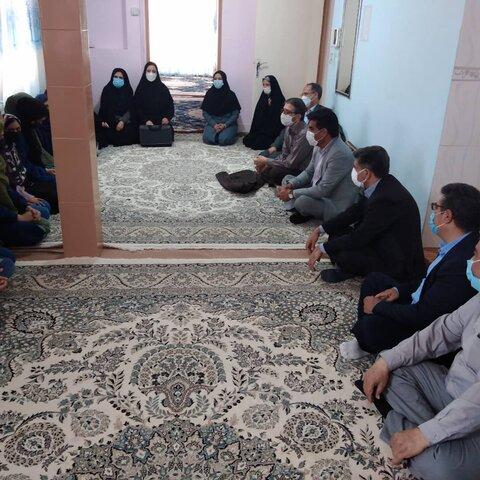 مرکز نگهداری دختران و پسران شهرستان فردوس خ ج