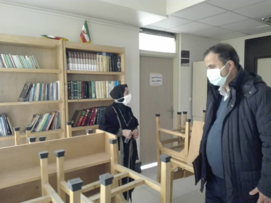 بازدید معاون پیشگیری بهزیستی تهران از مرکز توانمندسازی معتادان بهبود یافته محله هرندی