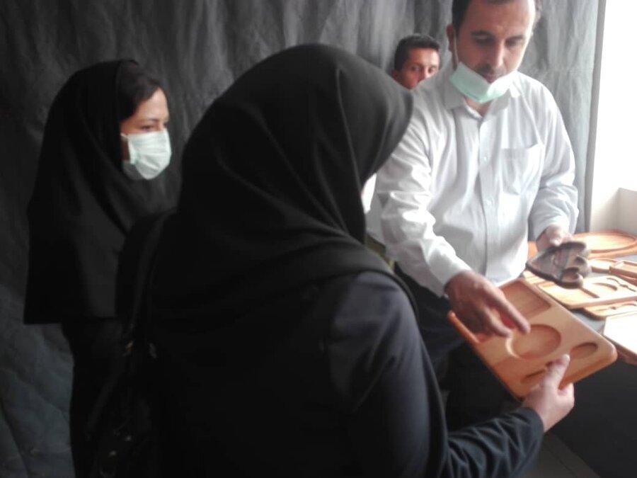 شهر تهران| بازدید معاون پیشگیری بهزیستی تهران از مرکز توانمندسازی معتادان بهبود یافته محله هرندی