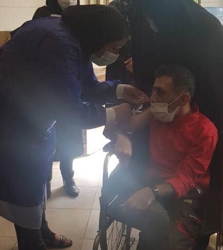 پاکدشت| آغاز واکسیناسیون کووید ۱۹ در مراکز شبانه روزی معلولین