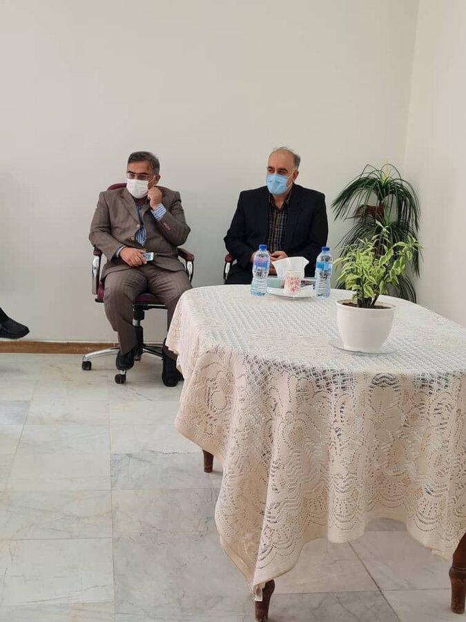برگزاری جلسه کارگروه مراقبتی و توانبخشی شرق و جنوب استان
