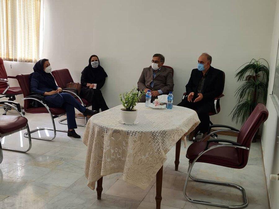 پاکدشت| برگزاری جلسه کارگروه مراقبتی و توانبخشی شرق و جنوب استان