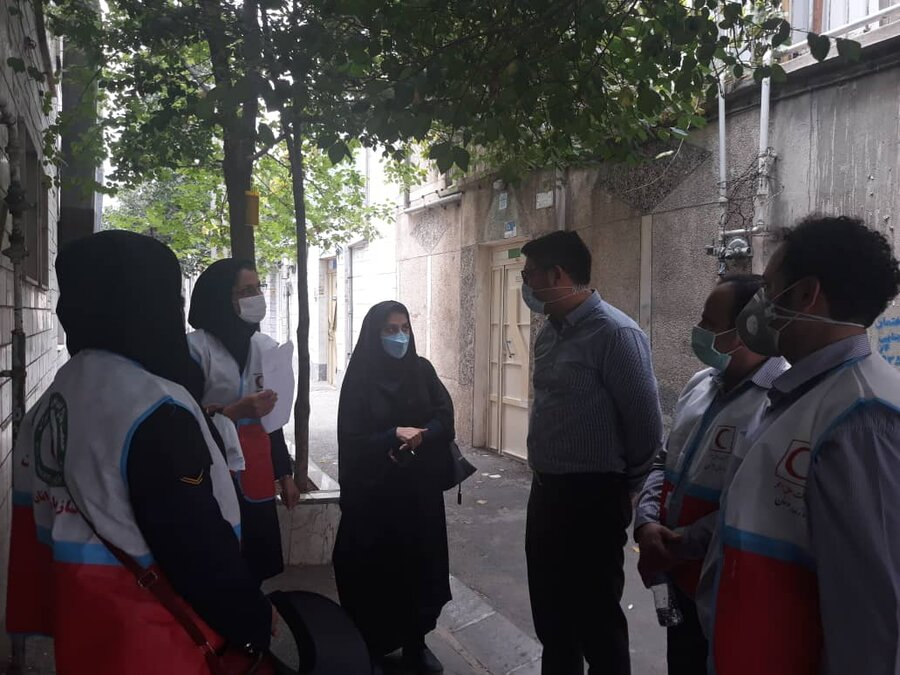 اجرای طرح تمام شماری در محله باغ آذری