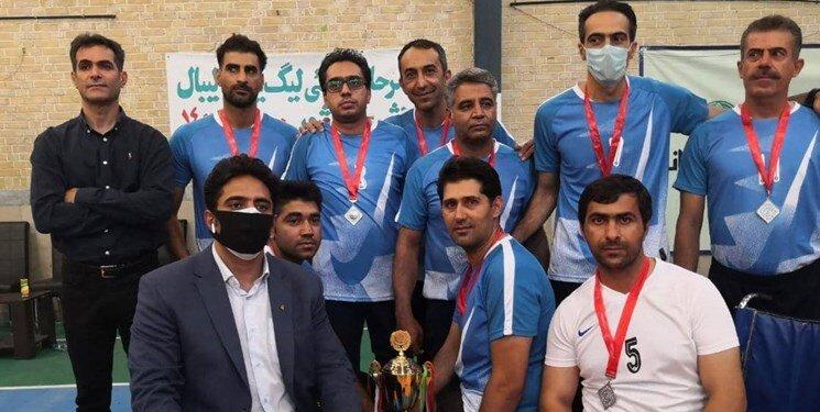 شهرداری لنگرود قهرمان لیگ دسته یک والیبال نشسته کشور