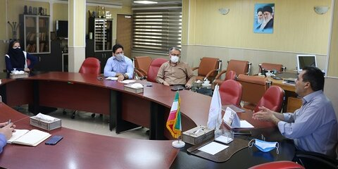 نشست و هم اندیشی انجمن اتیسم با مدیر کل بهزیستی استان