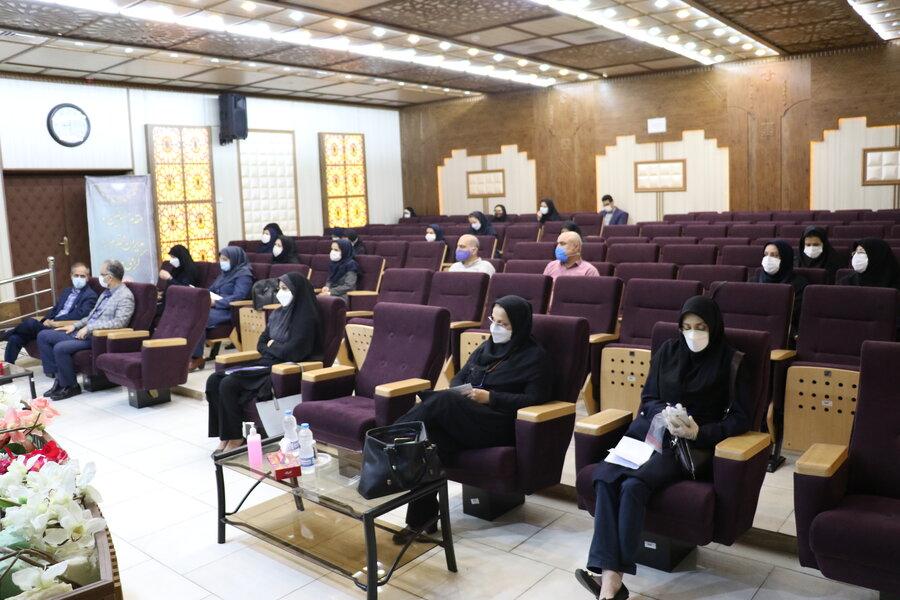 برگزاری نشست هم اندیشی  فصلی کارشناسان حوزه توانبخشی استان