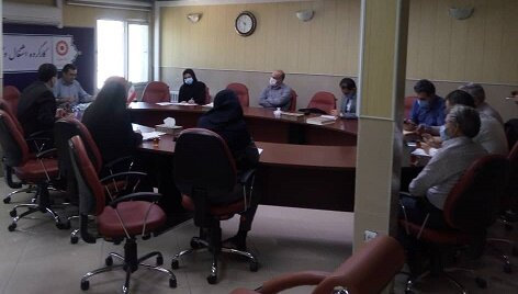 اولین جلسه کارگروه اشتغال و کار آفرینی درسال جاری