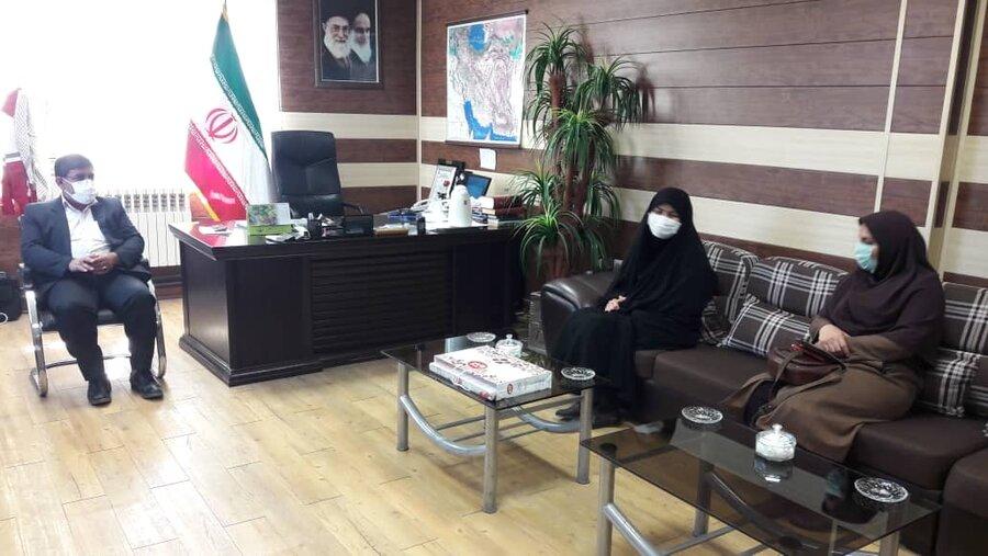 اولین سفر شهرستانی مدیرکل بهزیستی استان کرمانشاه در سال 1400/افزایش 5برابری کمک بلاعوض به مسکن مددجویان