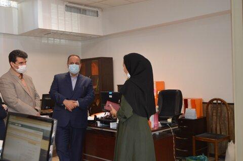 بازدید معاون توسعه و پشتیبانی استان تهران از بهزیستی شمیرانات