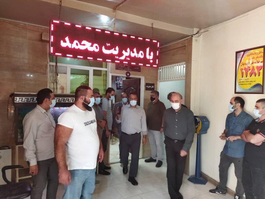 معاون پیشگیری بهزیستی استان تهران از مرکز اقامتی طلوع سبز رهایی بازدید کرد