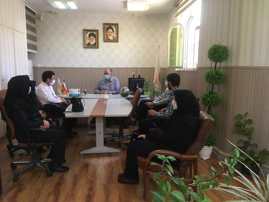 بازدید تیم نظارت بهزیستی استان تهران از مراکز اقامتی پاکدشت