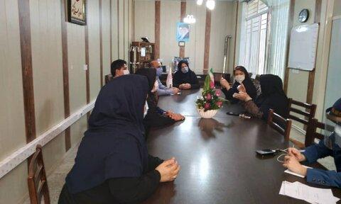 نهاوند|  اولین جلسه کارگروه تخصصی بررسی مشکلات پرونده ای مددکاری شهرستان درسالجاری