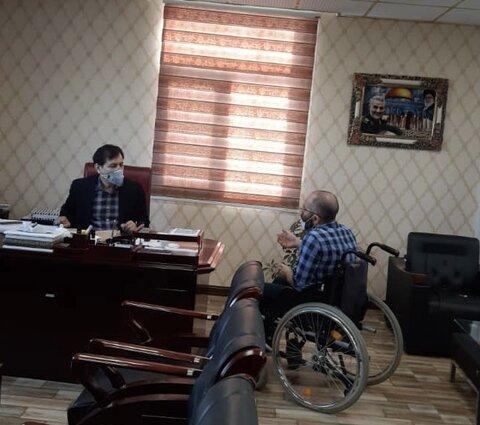 گزارش تصویری   ملاقات مردمی مدیر کل بهزیستی استان البرز