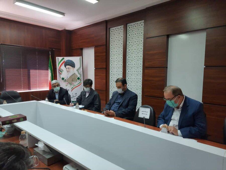 جلسه ساماندهی و پیگیری زمین های قابل واگذاری اداره کل راه و شهرسازی به مددجویان بهزیستی برگزار شد