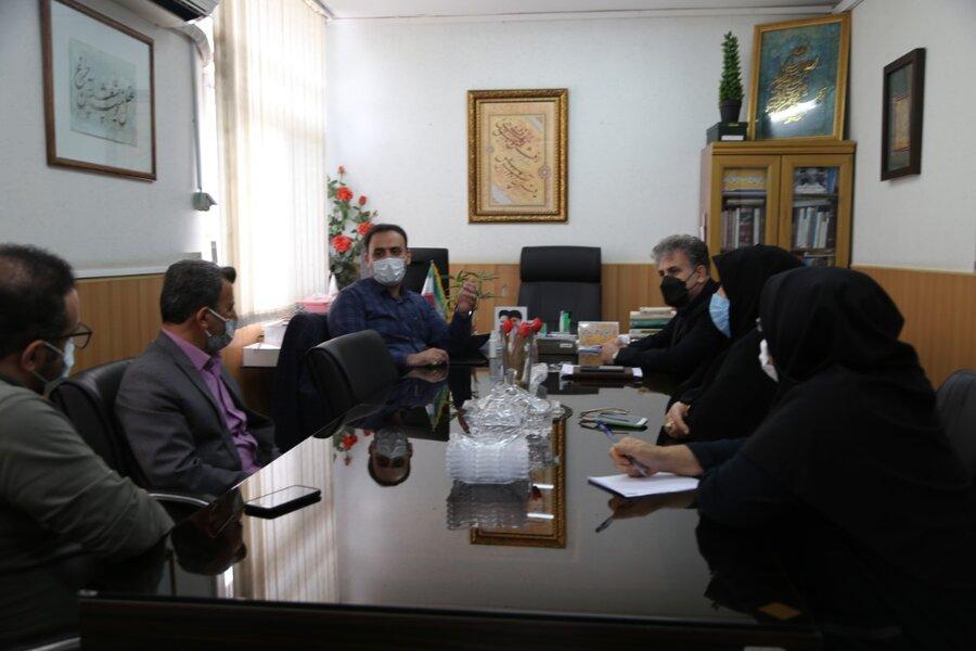 جلسه هم اندیشی مسکن بهزیستی مازندران برگزار شد
