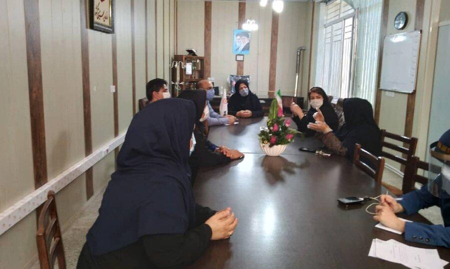 نهاوند   اولین جلسه کارگروه تخصصی بررسی مشکلات پرونده ای مددکاری شهرستان درسالجاری