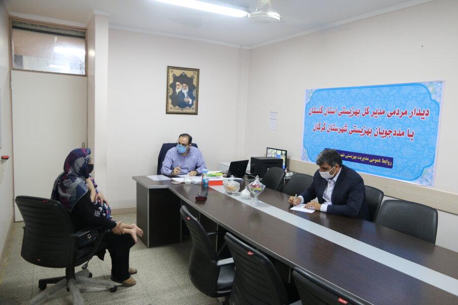 ملاقات مردمی مدیرکل بهزیستی استان در شهرستان گرگان