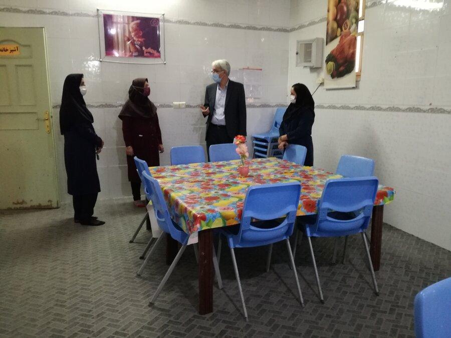 مرودشت | گزارش تصویری | بازدید از مرکز خانه نونهالان و نوباوگان حضرت علی اصغر (ع)