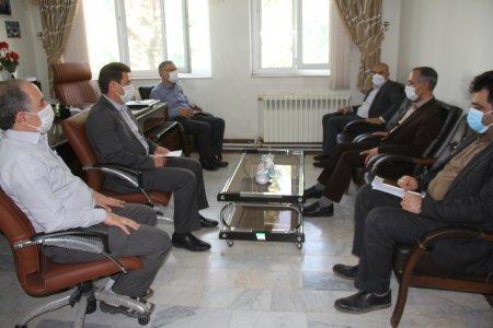 دیدار مدیرکل بهزیستی با مدیر امور شعب بانک کشاورزی استان