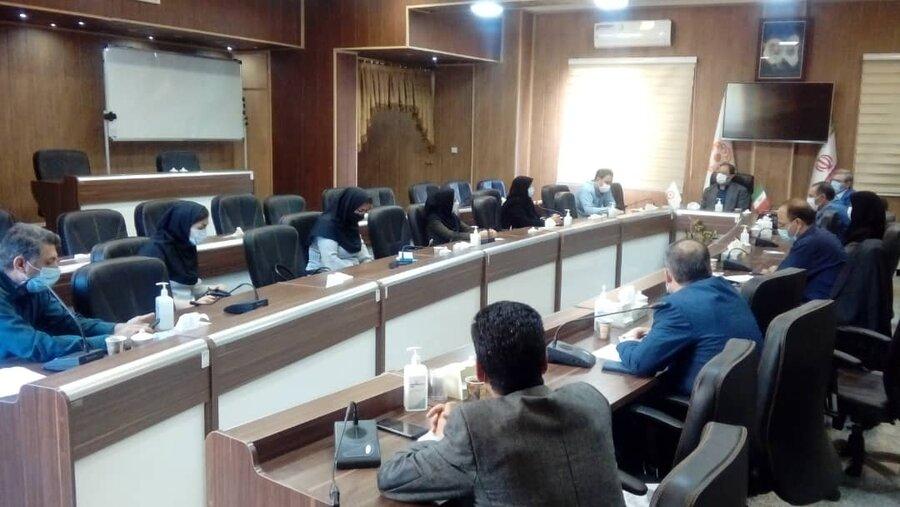 برگزاری نشست مدیرکل بهزیستی آذربایجان غربی با نمایندگان مراکز روزانه و شبانه روزی تحت پوشش بهزیستی استان