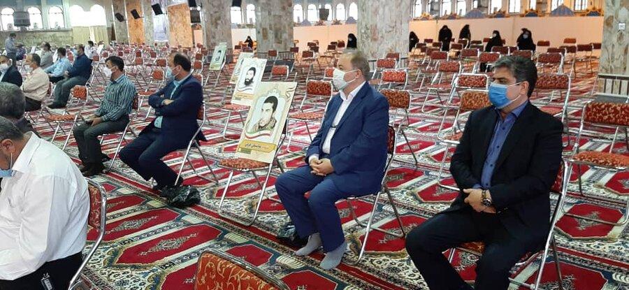حضور مدیرکل و معاونین بهزیستی مازندران در مراسم بزرگداشت سالگرد ارتحال حضرت امام (ره)