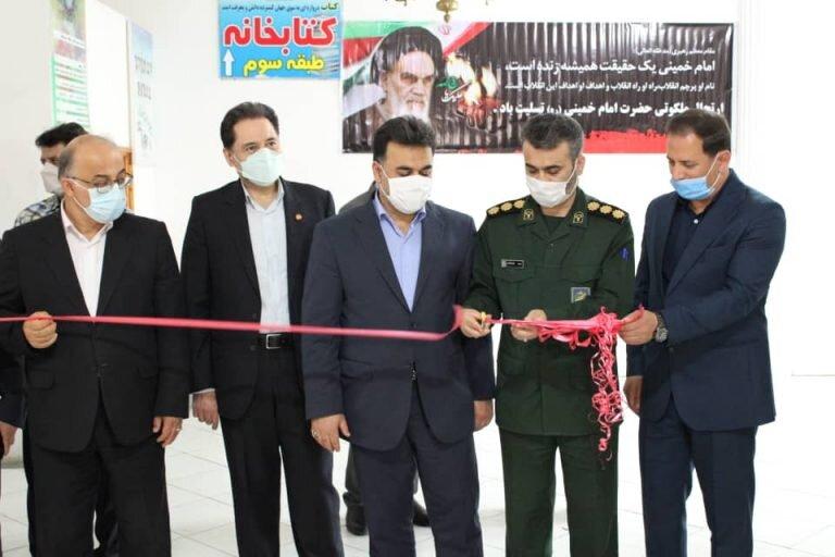 برگزاری نمایشگاه عکس همزمان با سالروز ارتحال حضرت امام خمینی (ره) و قیام ١۵ خرداد در شهرستان فومن