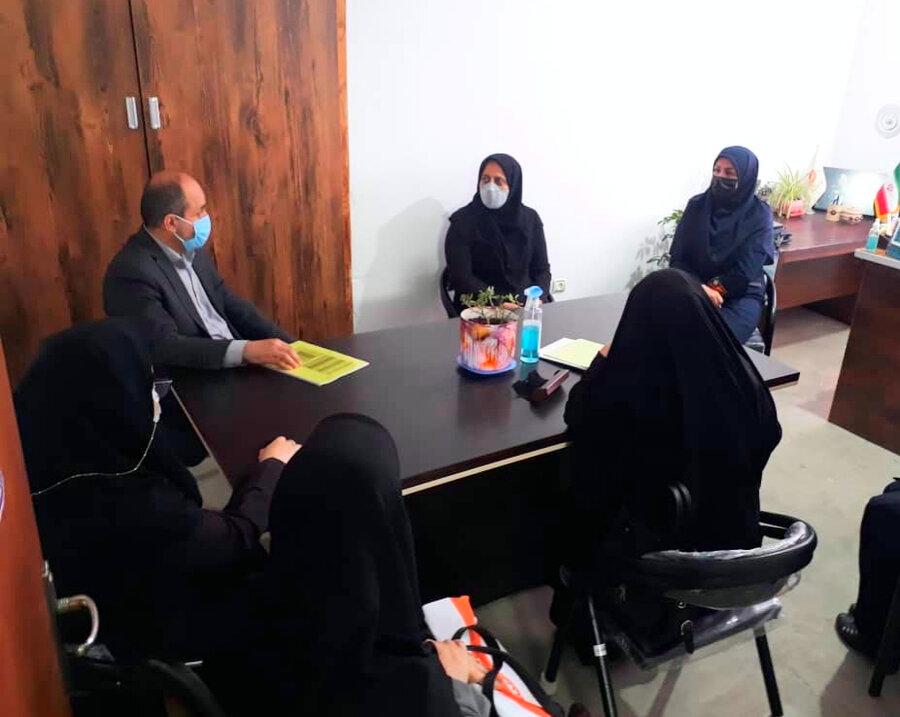 بازدید معاون امور اجتماعی از مراکز تحت نظارت بهزیستی رودسر