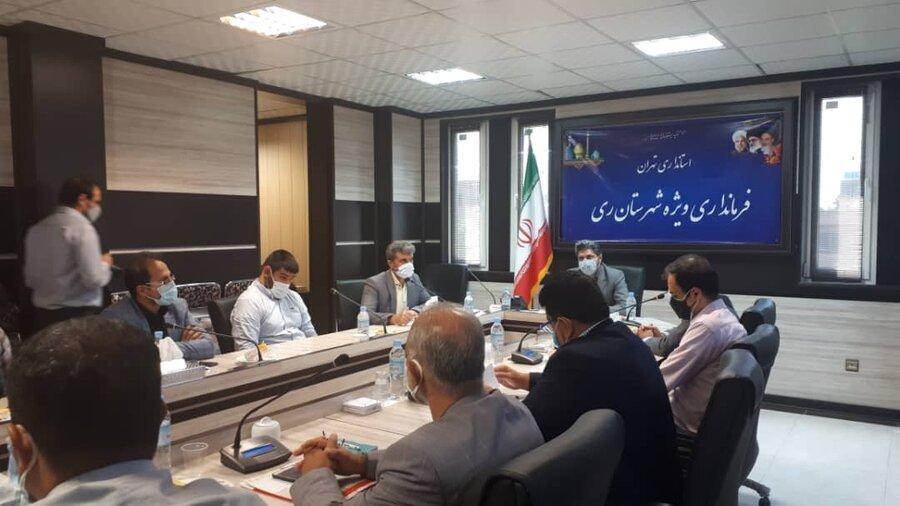 برگزاری جلسه شورای مناسب سازی شهرستان
