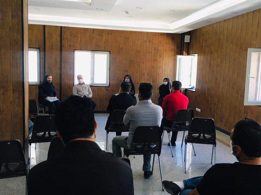 شهرقدس| جلسه هم اندیشی مراکز اقامتی بهزیستی شهرستان برگزار شد