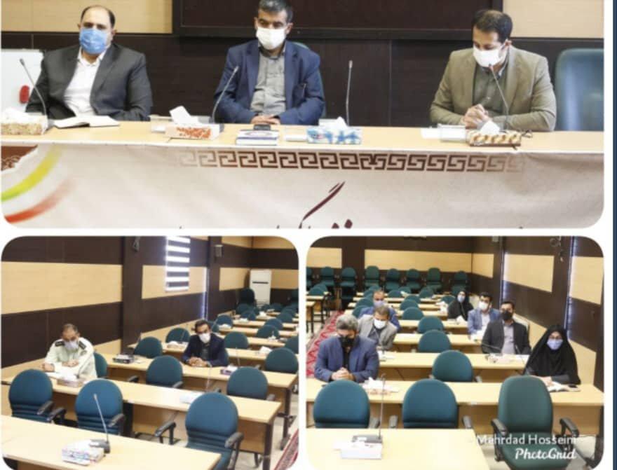 فیروزکوه| برگزاری جلسه شورای فرعی هماهنگی مبارزه با موادمخدر شهرستان