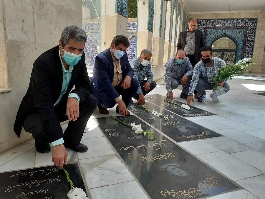 شهریار| تجدید بیعت با آرمان های امام راحل و شهیدان