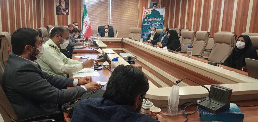 بررسی آخرین وضعیت آسیبهای اجتماعی استان