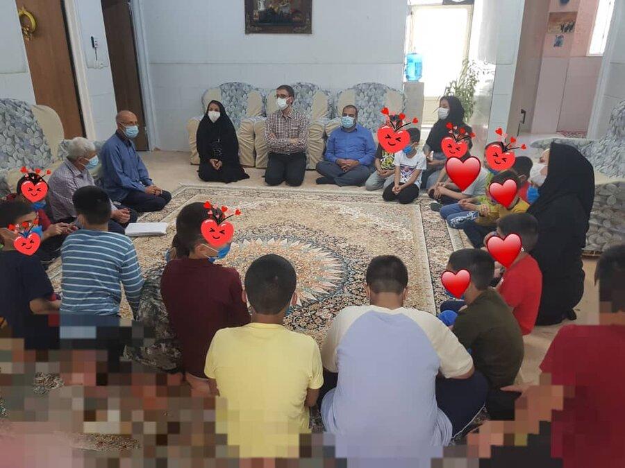 گزارش تصویری از بازدید دکتر بابایی مدیرکل امور کودکان و نوجوانان بهزیستی کشور از مناطق جنوب فارس