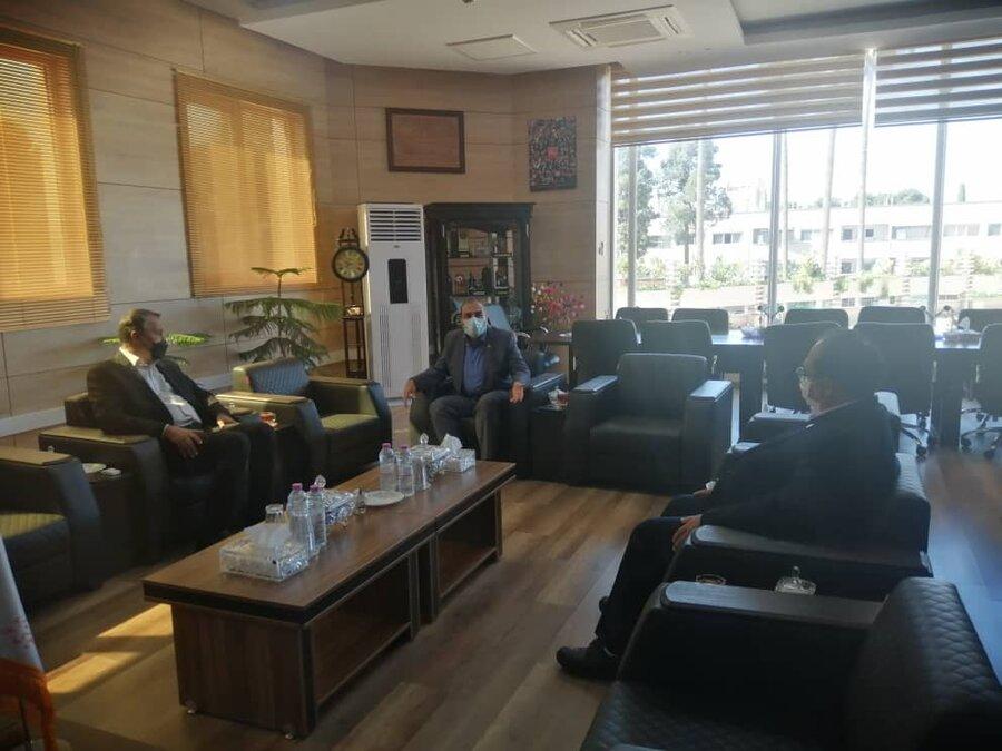 نشست مدیرکل بهزیستی فارس و معاون پشتیبانی با نماینده مردم جهرم و خفر