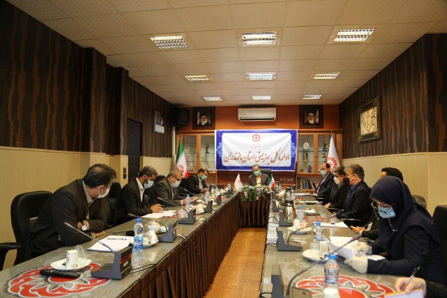 پنجمین جلسه شورای معاونین بهزیستی مازندران برگزارشد