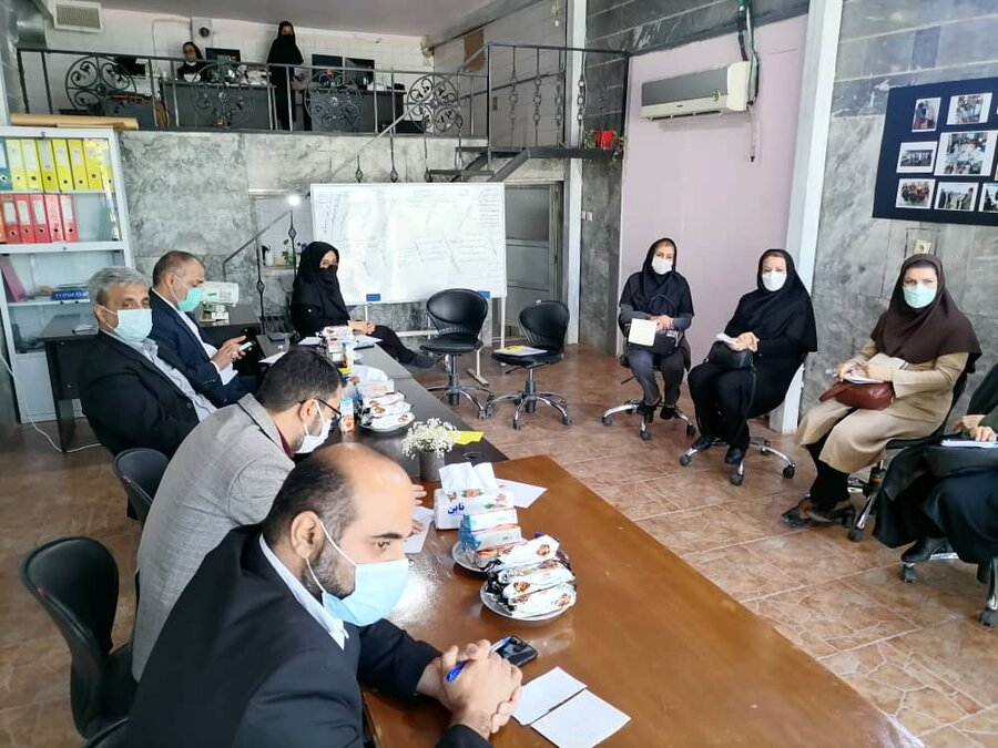 دومین کارگروه حمایت و تاب آوری استان البرز تشکیل جلسه داد