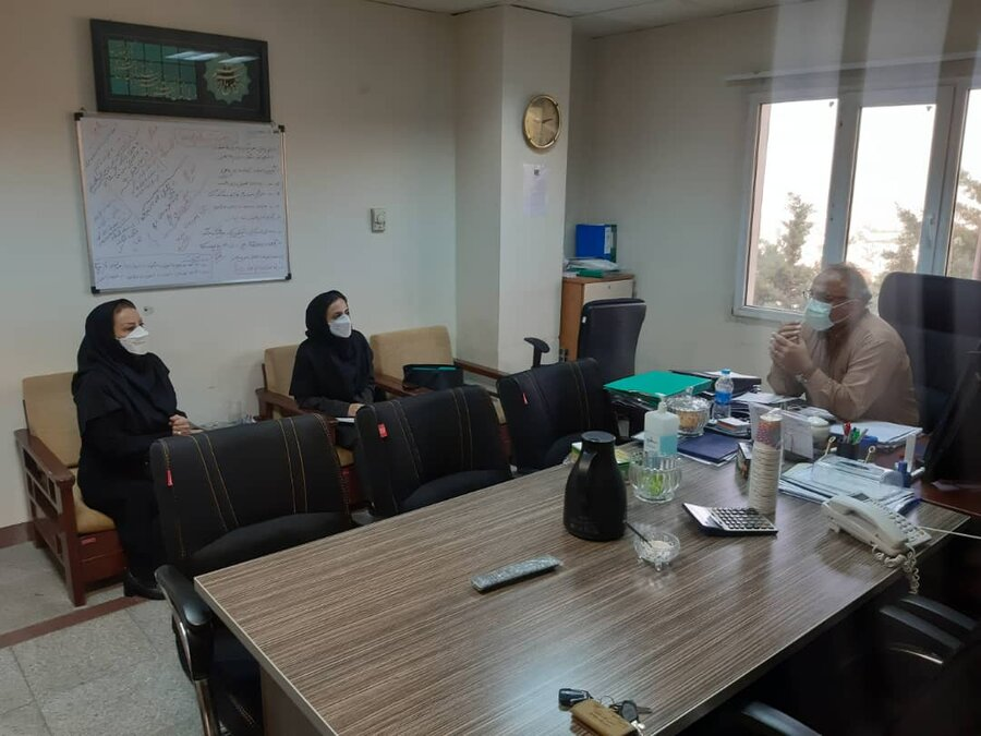 نشست مشترک بهزیستی استان و صدا و سیمای البرز