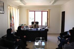 دیدار جمعی از  مشاوران مرکز مشاوره تلفن ۱۴۸۰ با مدیرکل بهزیستی آذربایجان غربی