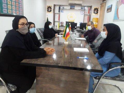 تنگستان برگزاری جلسه اشتغال و مسکن با مراکز مثبت زندگی