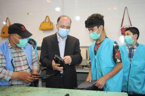 بازدید مدیر بهزیستی شهر تهران از مرکز ساماندهی کودکان کار و خیابان یاسر