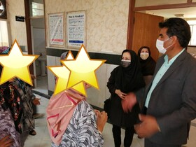 گزارش تصویری بازدید مدیرکل بهزیستی خراسان جنوبی از مرکز گلهای شهرستان فردوس