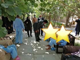 گزارش تصویری  بازدید و سرکشی دکتر عرب نژاد مدیرکل بهزیستی استان از مرکز جامع سالمندان موسسه خیریه فجر امید فردوس