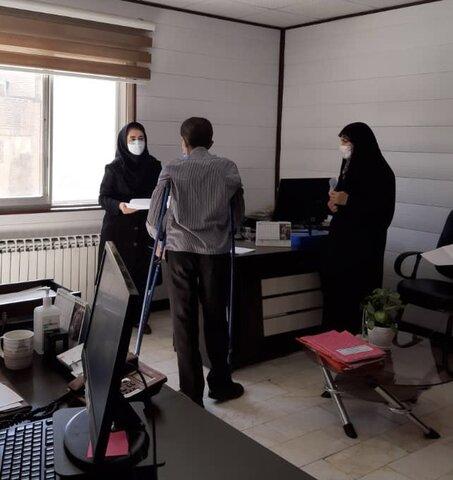 گزارش تصویری | مدیرکل بهزیستی البرز میزبان جامعه هدف سازمان